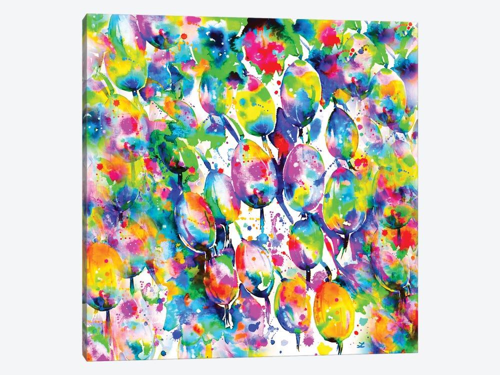 Rainbow Gooseberry by Zaira Dzhaubaeva 1-piece Canvas Print