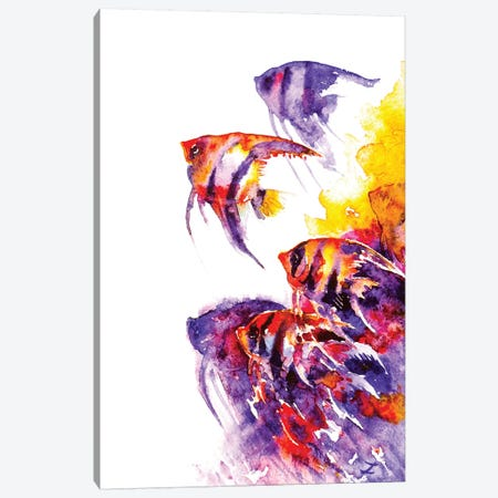 Scalare Flow Canvas Print #ZDZ99} by Zaira Dzhaubaeva Canvas Art