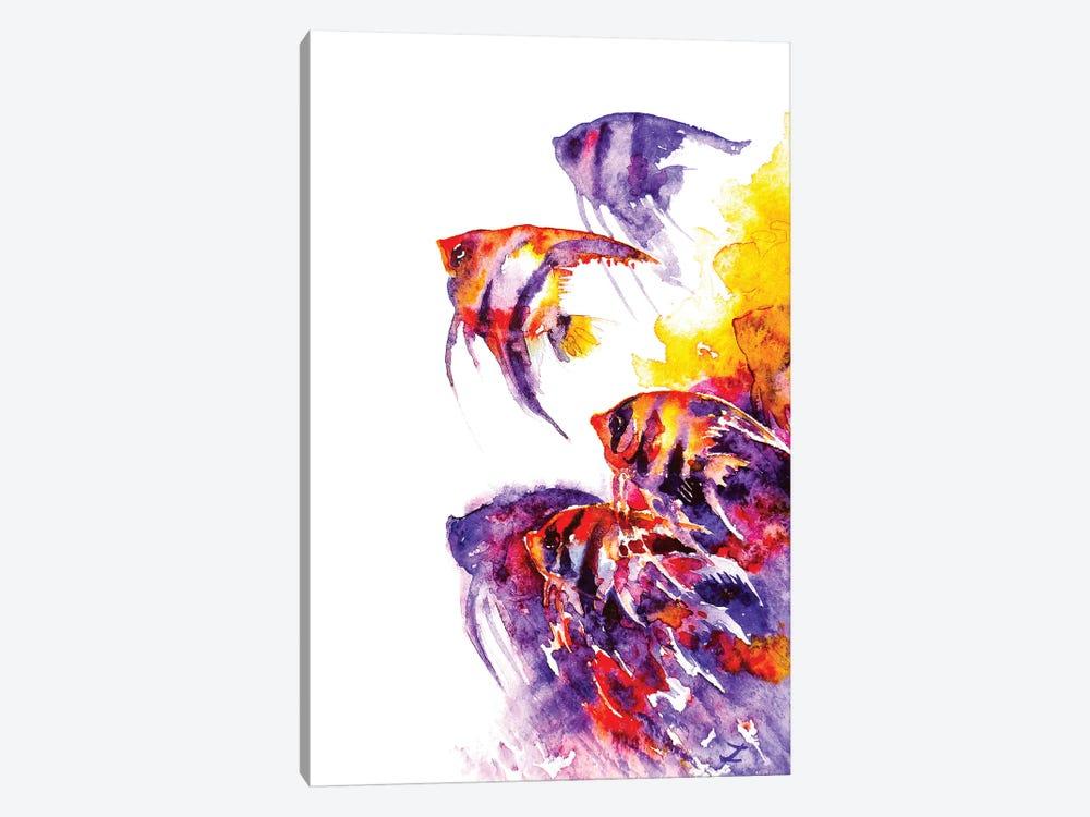 Scalare Flow by Zaira Dzhaubaeva 1-piece Canvas Art Print