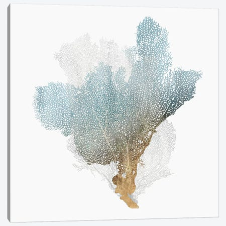 Delicate Coral III  Canvas Print #ZEE104} by Isabelle Z Canvas Art