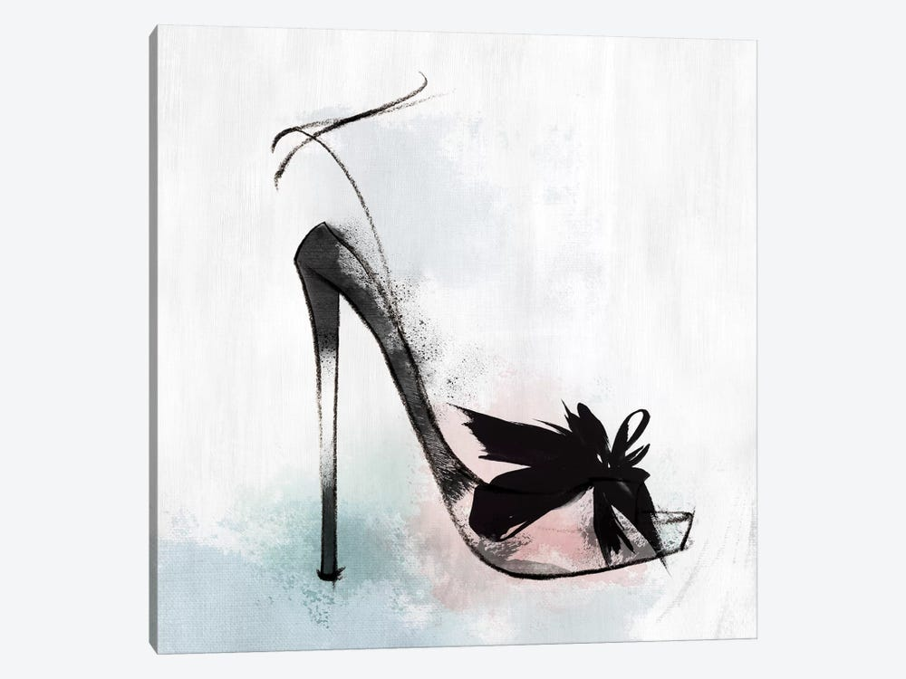 Feather Heel by Isabelle Z 1-piece Canvas Artwork
