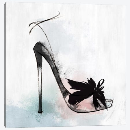 Feather Heel Canvas Print #ZEE105} by Isabelle Z Canvas Art