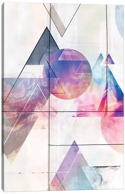 Kaleidescope Shapes I  Canvas Art Print
