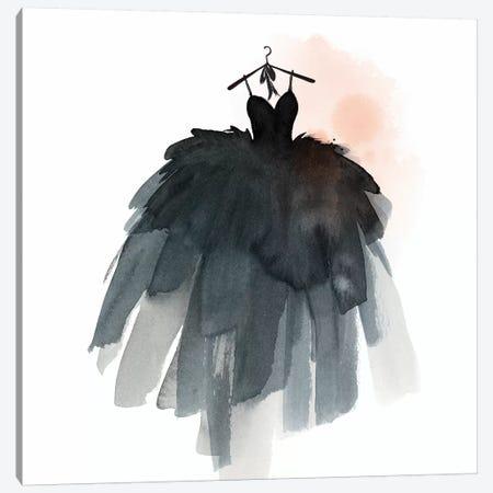 Little Black Dress III  Canvas Print #ZEE117} by Isabelle Z Canvas Art Print