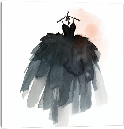 Little Black Dress III  Canvas Art Print