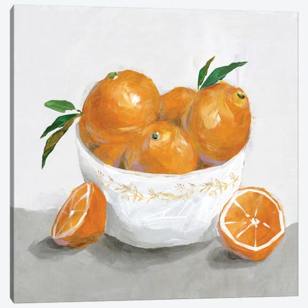 Oranges Canvas Print #ZEE128} by Isabelle Z Art Print