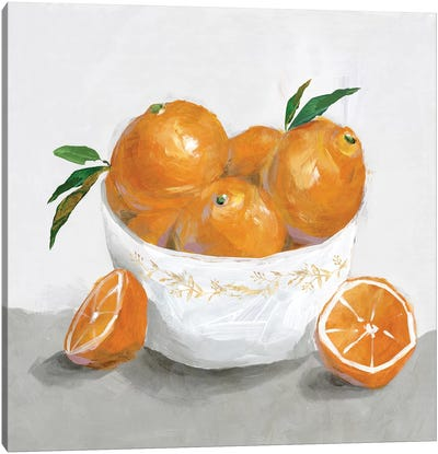 Oranges Canvas Art Print