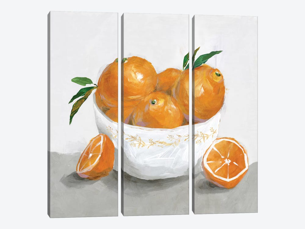 Oranges by Isabelle Z 3-piece Art Print