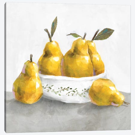 Pears Canvas Print #ZEE129} by Isabelle Z Canvas Print