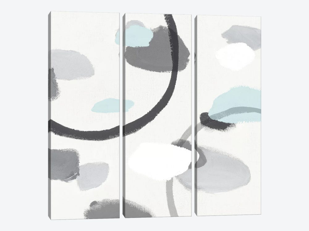 Grey I by Isabelle Z 3-piece Canvas Print