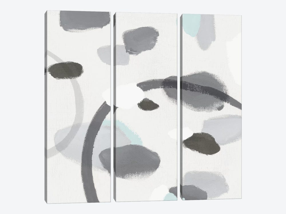 Grey II by Isabelle Z 3-piece Canvas Art