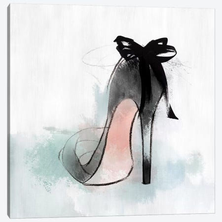 Ribbon Heel Canvas Print #ZEE141} by Isabelle Z Canvas Art Print