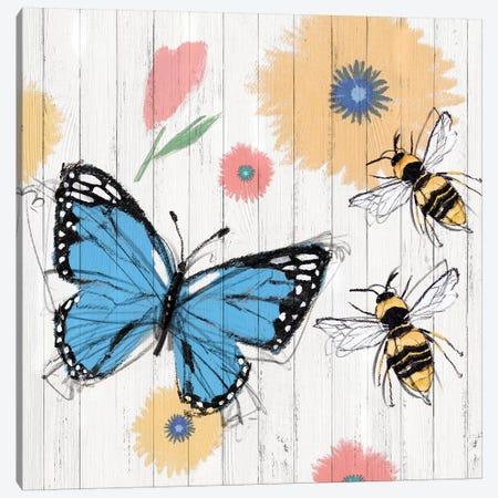 Backyard Summer I  Canvas Print #ZEE154} by Isabelle Z Canvas Art Print