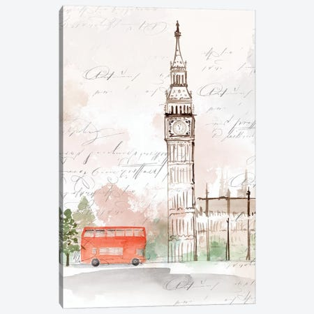 Big Ben London Canvas Print #ZEE156} by Isabelle Z Canvas Print