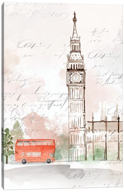 Big Ben London Canvas Art Print