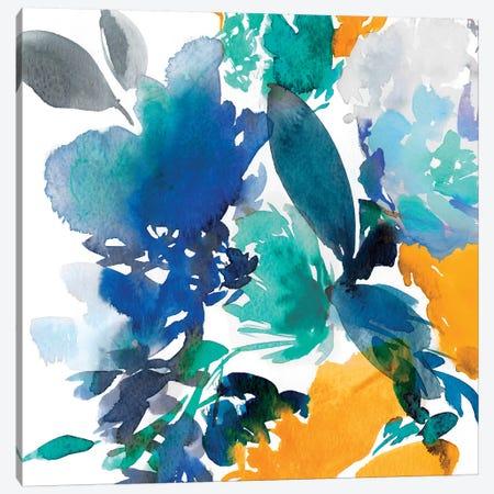 Indigo Flower II Canvas Print #ZEE15} by Isabelle Z Canvas Print