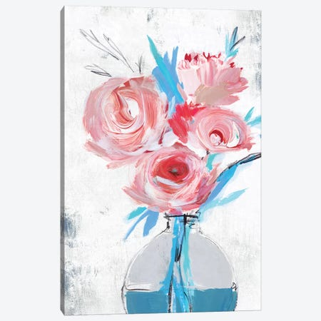 Blue Vase II  Canvas Print #ZEE160} by Isabelle Z Canvas Print