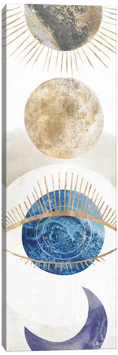 Crescent Moon I  Canvas Art Print