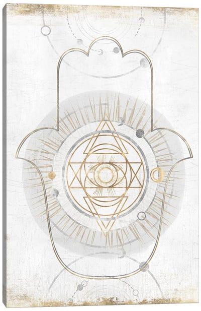 Gold Hamsa I  Canvas Art Print