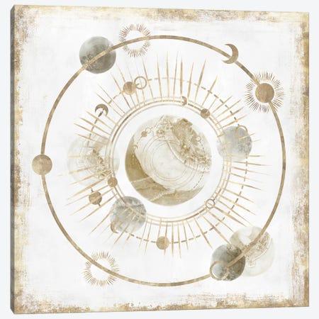 Golden Galaxy I  Canvas Print #ZEE177} by Isabelle Z Canvas Art Print