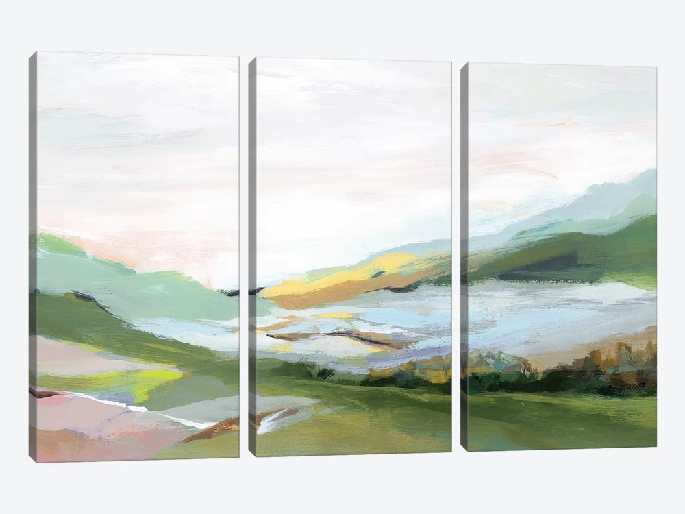 Highland II  by Isabelle Z 3-piece Canvas Wall Art