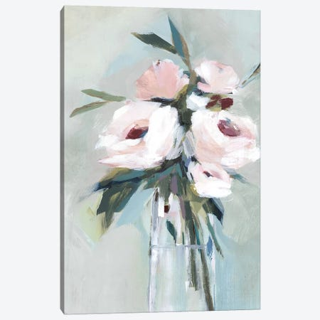 Peonies in a Vase II  Canvas Print #ZEE185} by Isabelle Z Canvas Art