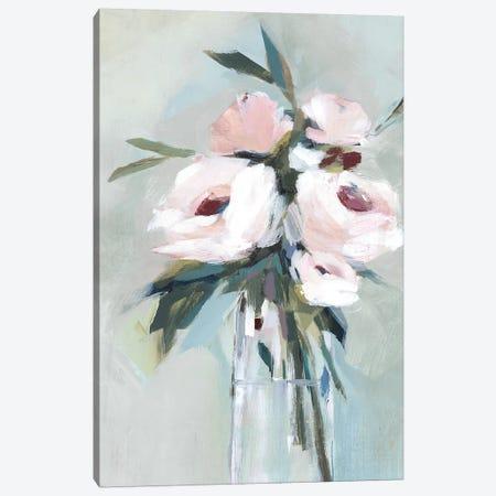 Peonies in a Vase II  3-Piece Canvas #ZEE185} by Isabelle Z Canvas Art