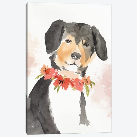 Puppy I  Canvas Print #ZEE186} by Isabelle Z Canvas Wall Art