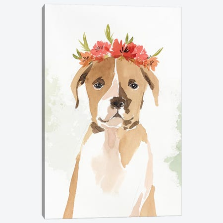 Puppy II Canvas Print #ZEE187} by Isabelle Z Canvas Wall Art