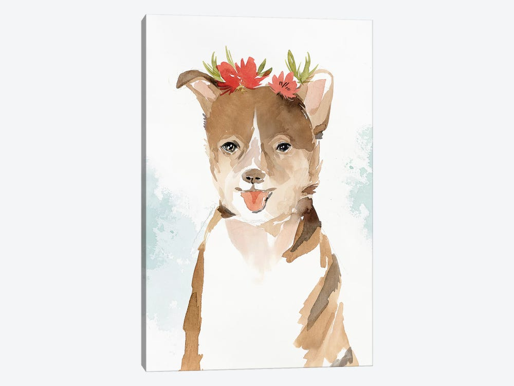 Puppy III  by Isabelle Z 1-piece Canvas Print