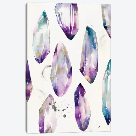 Purple Gemstones I  Canvas Print #ZEE189} by Isabelle Z Canvas Art Print