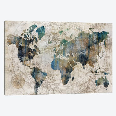 Celestial Map  Canvas Print #ZEE198} by Isabelle Z Canvas Wall Art