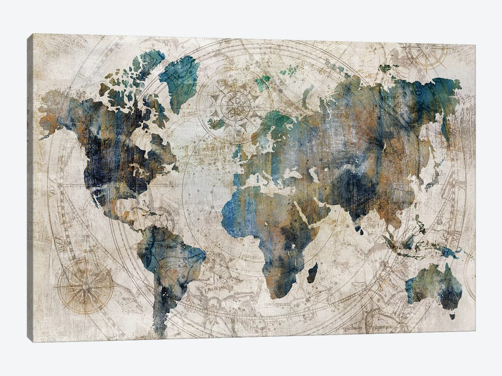 Celestial Map  by Isabelle Z 1-piece Canvas Art