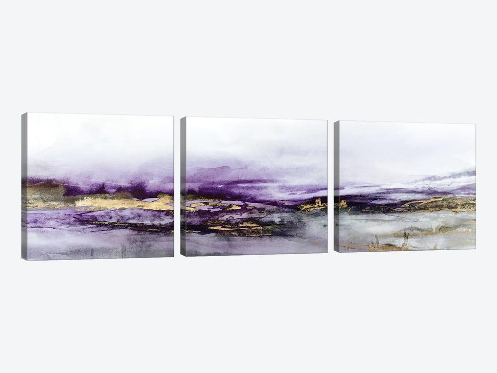 Elusive Dreams Violet Version  by Isabelle Z 3-piece Art Print