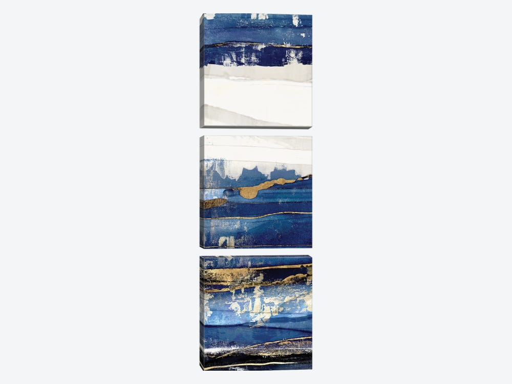 Ultramarine I  by Isabelle Z 3-piece Canvas Art