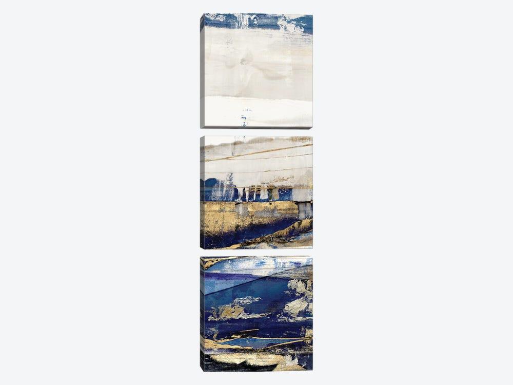 Ultramarine II  by Isabelle Z 3-piece Canvas Art Print