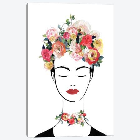 Flower Crown Frida II  Canvas Print #ZEE234} by Isabelle Z Canvas Artwork