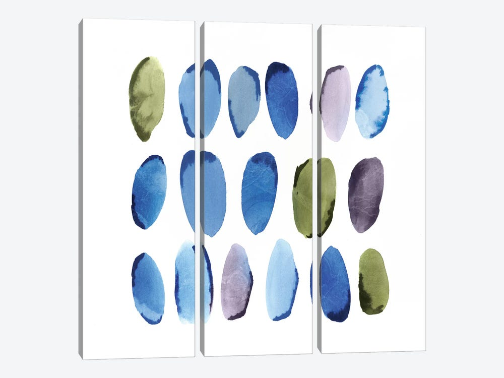 In Queue I  by Isabelle Z 3-piece Canvas Print