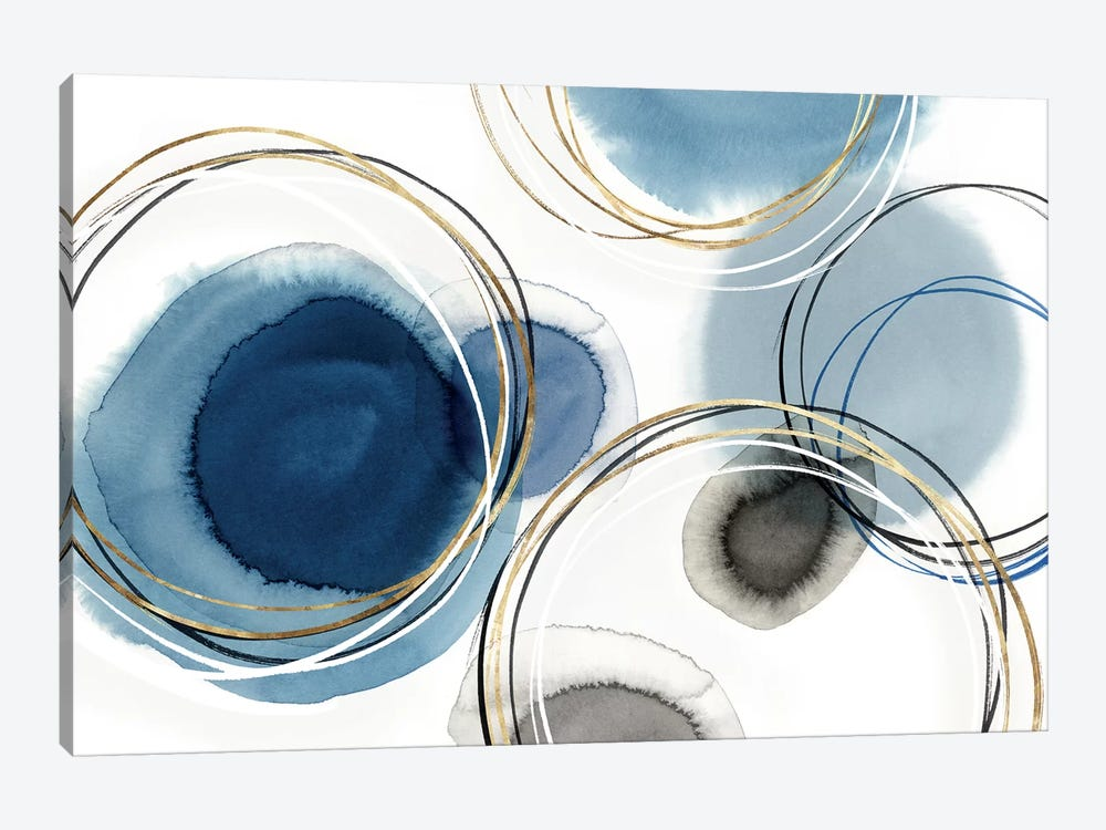 Infinity Indigo I  by Isabelle Z 1-piece Canvas Wall Art