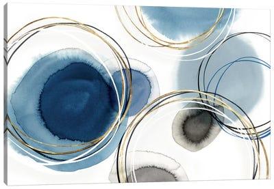 Infinity Indigo I  Canvas Art Print