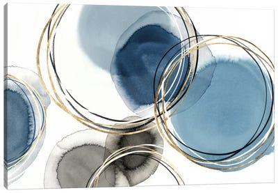 Infinity Indigo II  Canvas Art Print