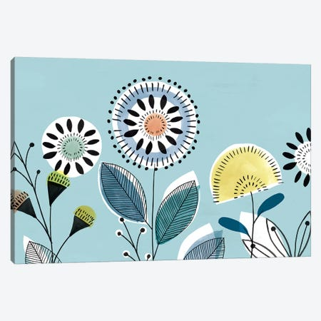 Scandi Florals II  Canvas Print #ZEE261} by Isabelle Z Canvas Art