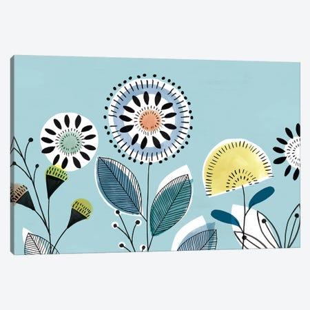 Scandi Florals II  Canvas Print #ZEE261} by Isabelle Z Canvas Art