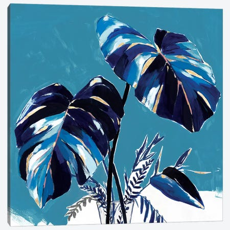Swaying Palms II  Canvas Print #ZEE269} by Isabelle Z Canvas Wall Art