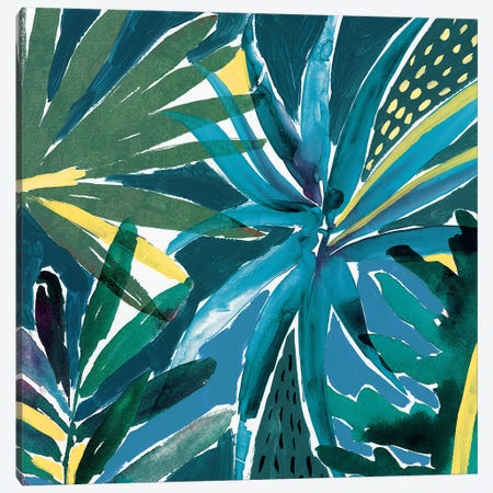 Tropical Blues  Canvas Print #ZEE270} by Isabelle Z Canvas Art Print