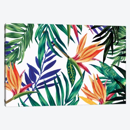 Tropical Foliage  3-Piece Canvas #ZEE288} by Isabelle Z Canvas Wall Art