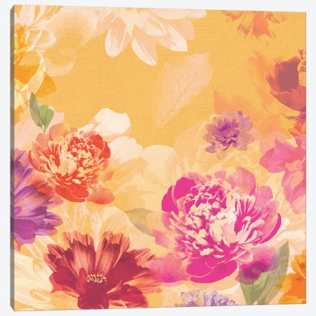 Vintage Floral I Canvas Print #ZEE28} by Isabelle Z Canvas Art Print