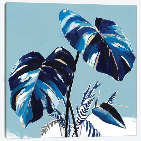 Villa Palms II  Canvas Print #ZEE290} by Isabelle Z Art Print