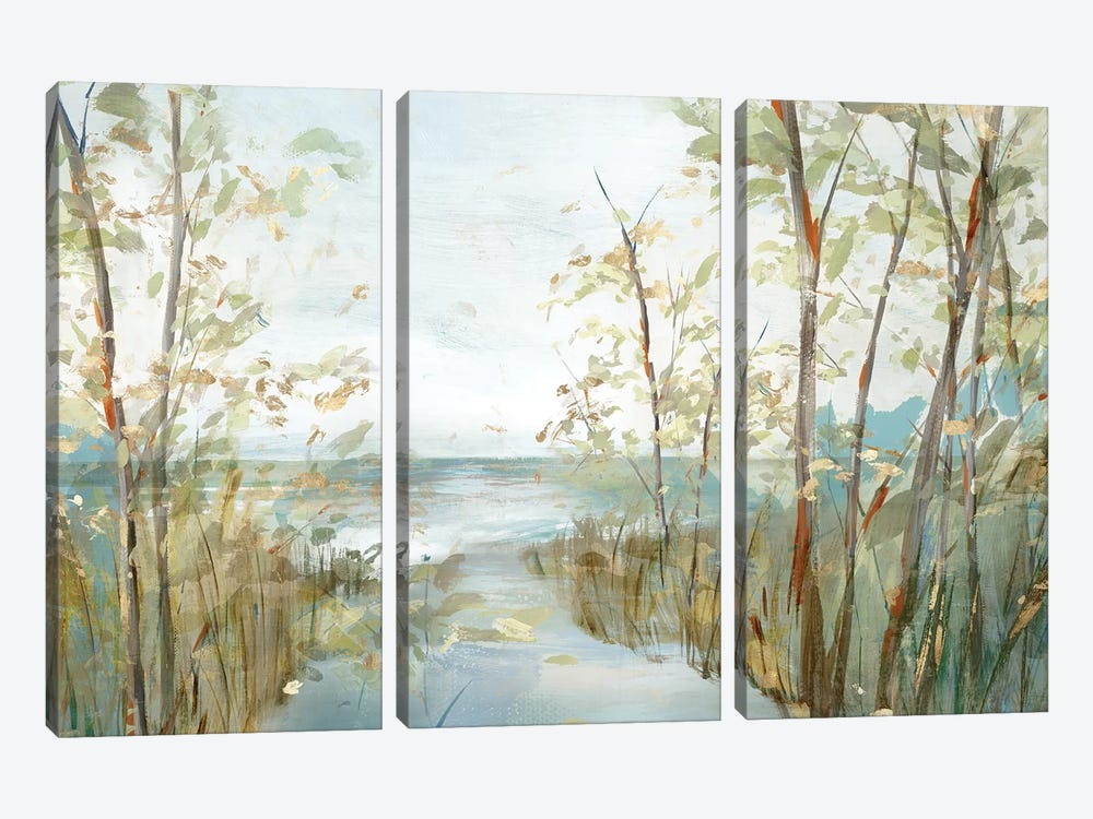 Beach Lookout  by Isabelle Z 3-piece Canvas Art