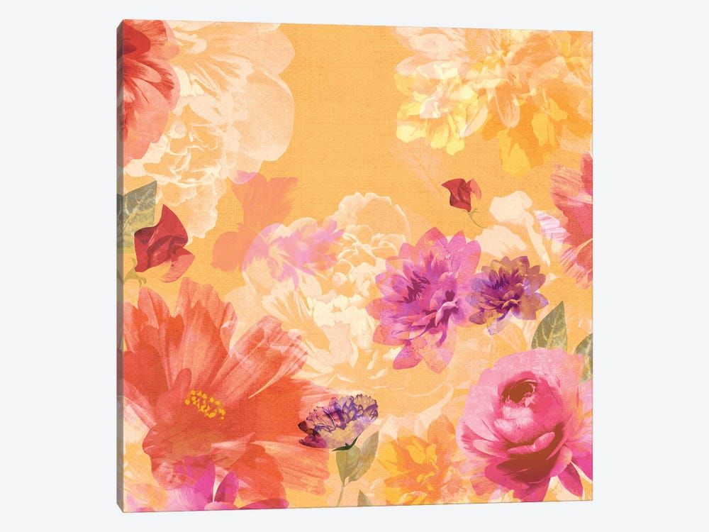 Vintage Floral II by Isabelle Z 1-piece Canvas Art Print
